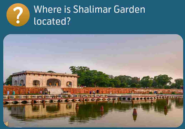 Where is Shalimar Garden located?