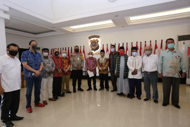 Forum Lintas Agama Sumut Sepakat Masalah FPI Tutup Warung Tuak Selesai Damai