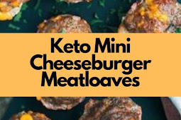 Keto Mini Cheeseburger Meatloaves Recipe