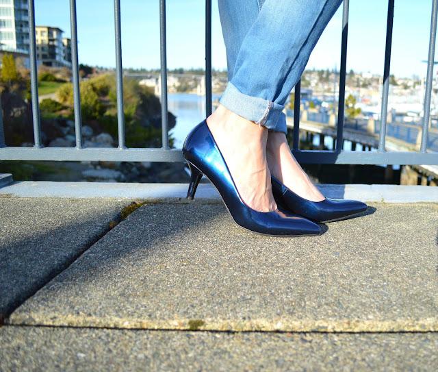 fashion, springtrend, shoes, heels, PNW, nautical