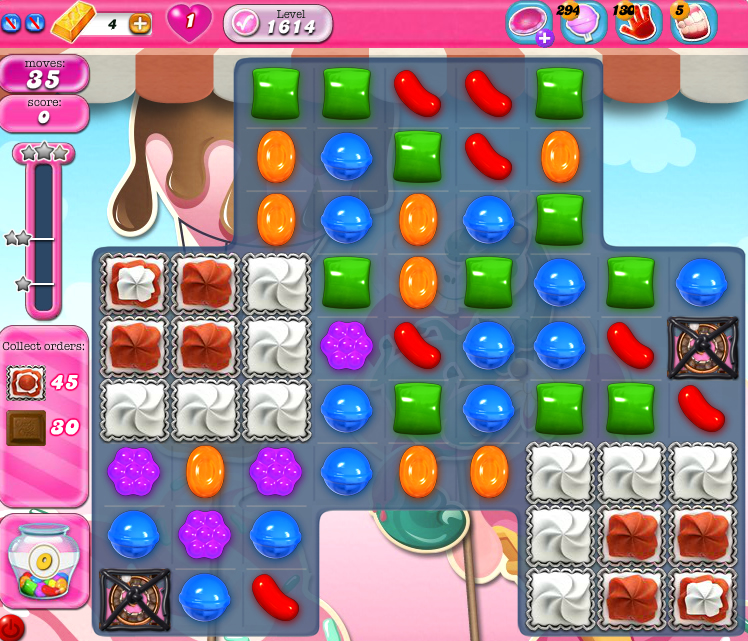 Candy Crush Saga 1614