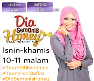 SINOPSIS DRAMA DIA SEMANIS HONEY, NOVEL DIA SEMANIS HONEY, SINOPSIS NOVEL DIA SEMANIS HONEY, BARISAN PELAKON DIA SEMANIS HONEY, OST DRAMA DIA SEMANIS HONEY, DOWNLOAD DRAMA DIA SEMANIS HONEY, TONTON ONLINE DRAMA DIA SEMANIS HONEY, BACA ONLINE NOVEL DIA SEMANIS HONEY, LIRIK LAGU JANGAN NAKAL,LIRIK LAGU RESEPI BERKASIH, LIRIK LAGU LELAKI SEPERTI AKU