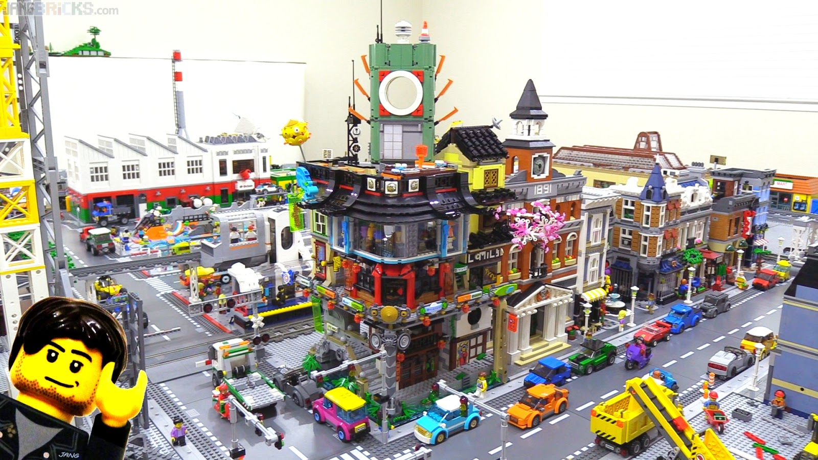 Buildings Made Of Lego