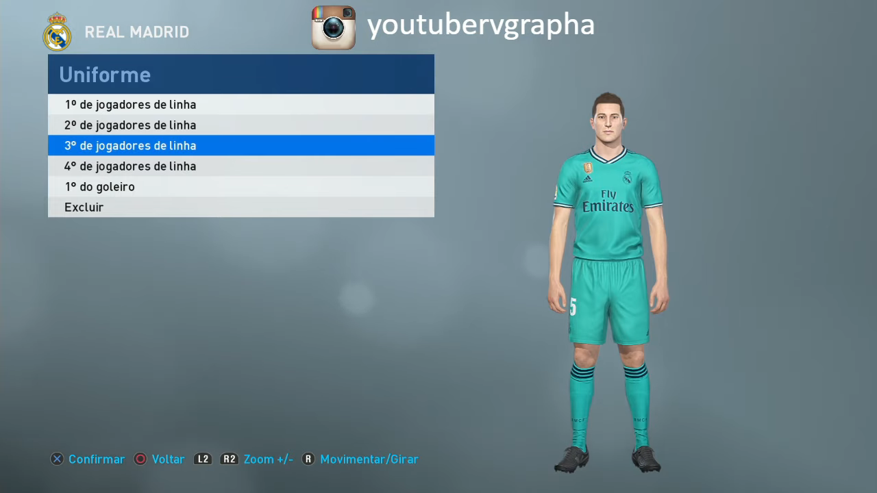 PES 2019 PS4 Complete Option File DLC 6 0 by RVGRAPHA