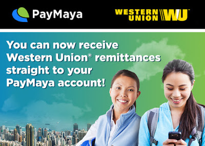 Receive Western Union Remittances Straight to Your PayMaya Account