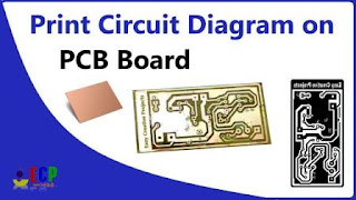 how to print circuit diagram on pcb board