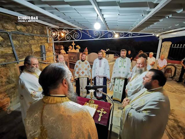 Γιόρτασαν τον Άγιο Ιωάννη τον Πρόδρομο στην Ήρα Αργολίδας (βίντεο)
