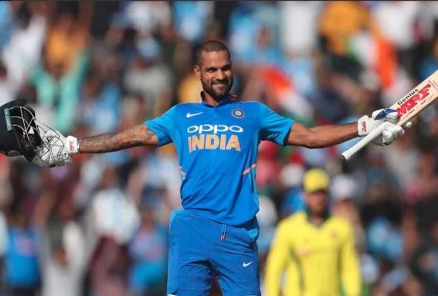 शिखर धवन ने किया कमाल, 96 रन जड़कर बनाए 3 बेहतरीन रिकॉर्ड