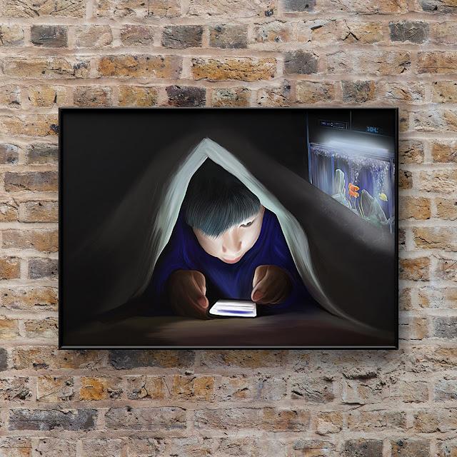 bedtime story, art, Mark Taylor, Beechhouse Media, Fine Art America, Pixels,