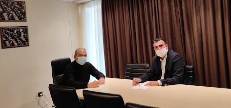 """ΠΡΕΒΕΖΑ: Συνάντηση εργασίας με τον Βουλευτή Στέργιο Γιαννάκη για την """"Ανάπτυξη Τώρα"""""""