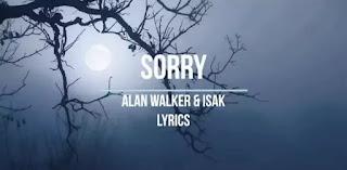 Alan Walker - Sorry Lyrics (ft. ISÁK)