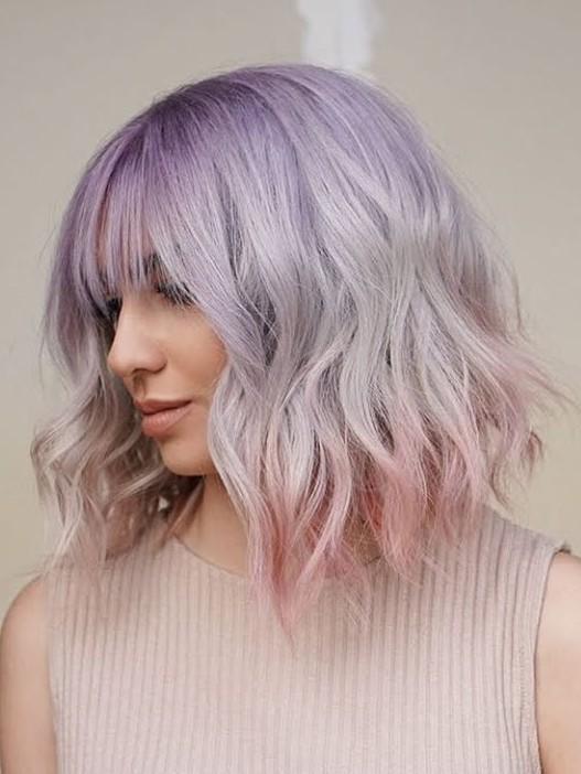 cortes de cabello shaggy coloracion 2020