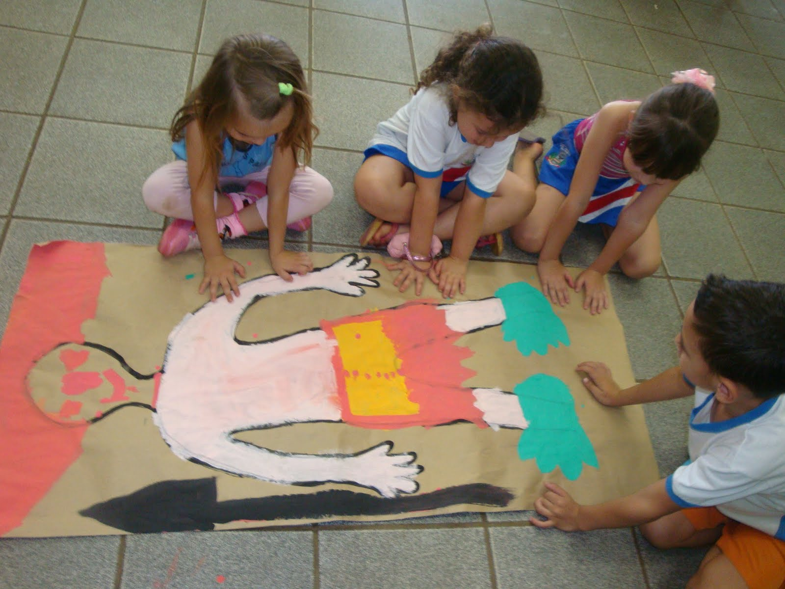 Painel Dia Do Folclore: E.M. Zumbi Dos Palmares: 22 De Agosto