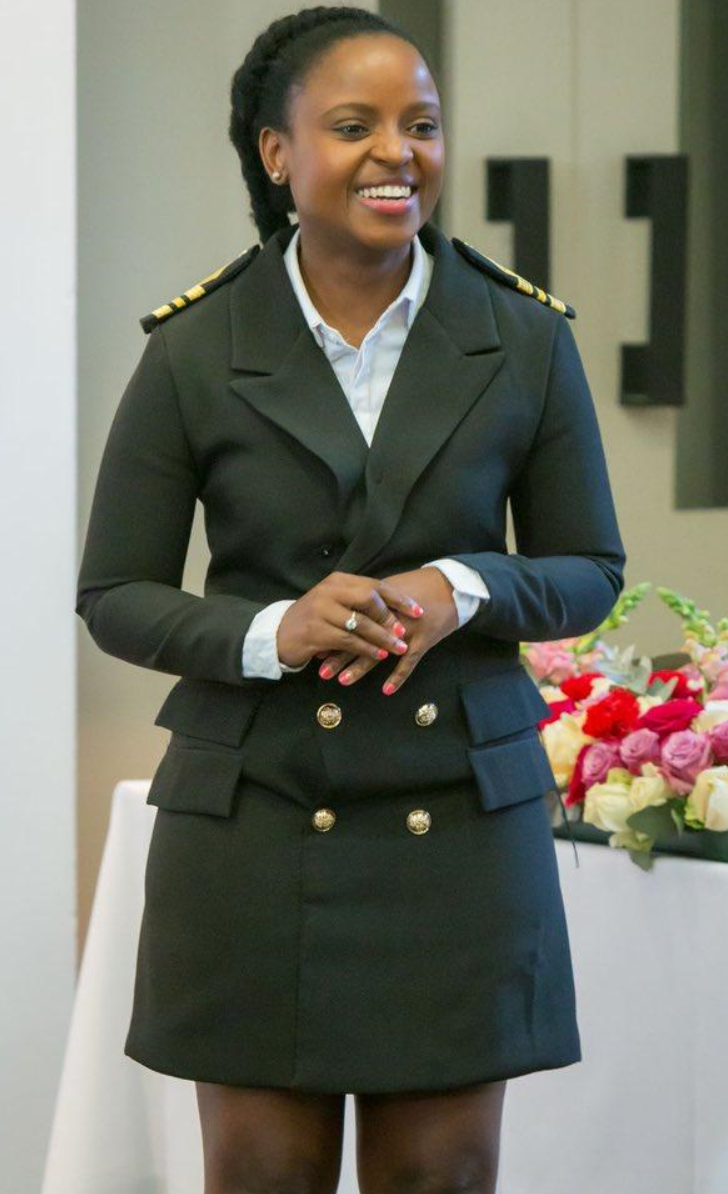 Meet - Londy Ngcobo, 32 years old South African born Global Ship Navigator