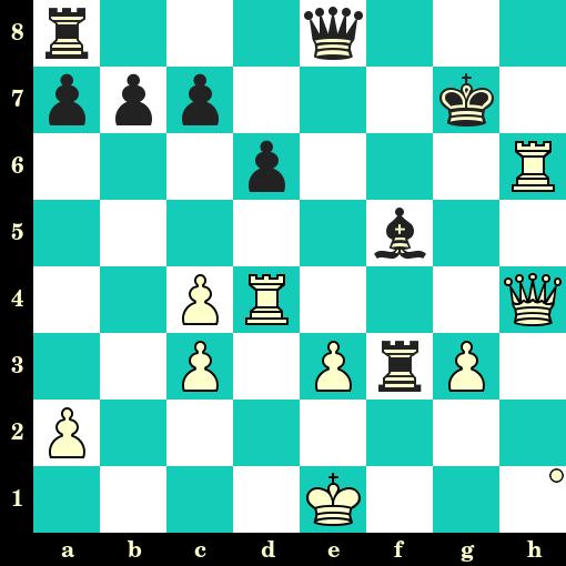Les Blancs jouent et matent en 2 coups - William Winter vs Jacob Gemzoe, Folkestone, 1933