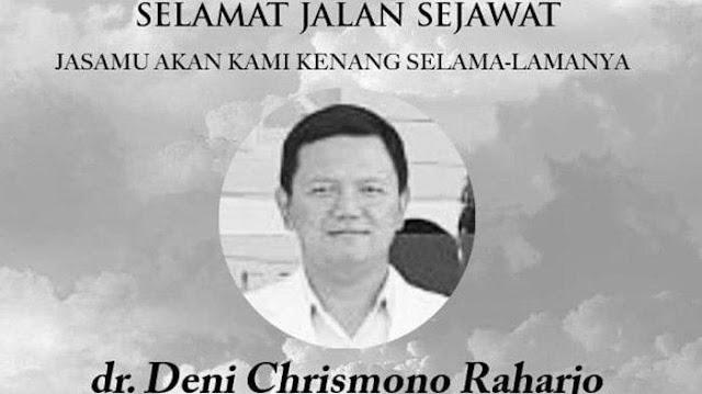 Dokter di Surabaya Berguguran Akibat Covid-19, Kini dr Deni Chrismono Meninggal di RSUD Dr Soetomo