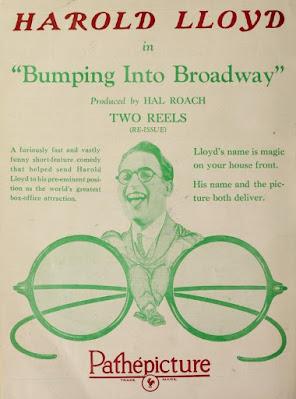 Póster película Hacia Broadway - 1919