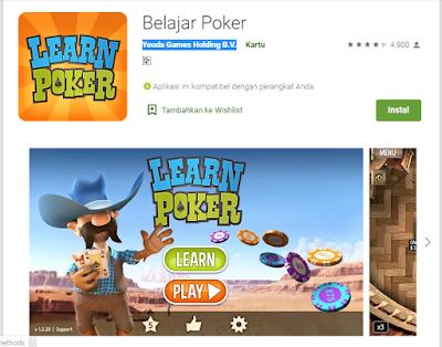 Aplikasi Android Terbaik Untuk Belajar Texas Hold'm Poker