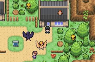 Pokemon Lost Legacy para GBA Pueblo Esmeralda