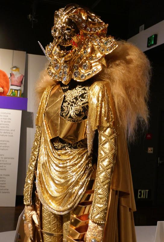 Masked Singer Lion costume