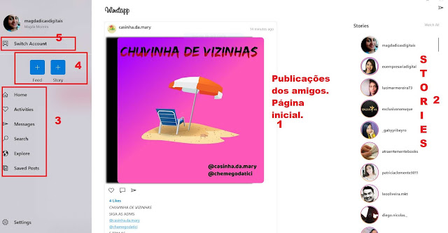 Winsta: App que publica no Feed e no Stories pelo pc