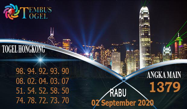 Angka Main Togel Hongkong Rabu 02 September 2020