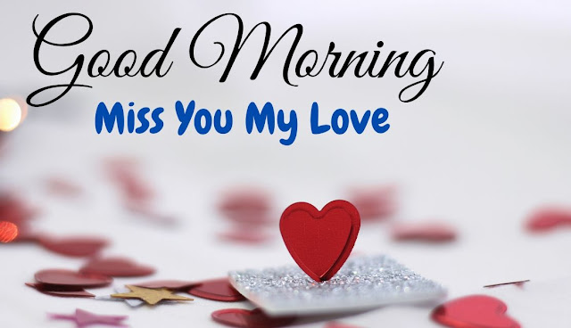 Romantic Good Morning Miss You Image for Love