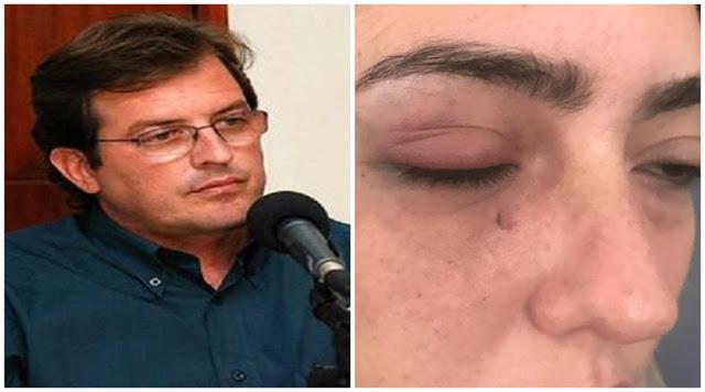 Prefeito de Sousa, Fábio Tyrone agride ex-namorada e é denunciado