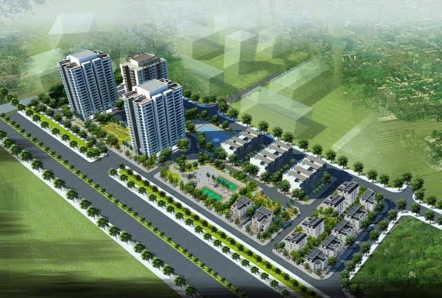Phối cảnh dự án Việt Hưng Green Park