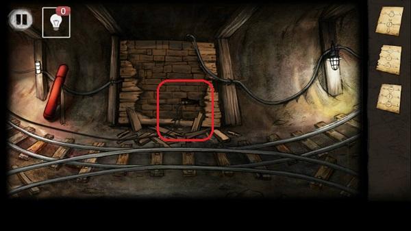 заряд в кирпичной стене в игре выход из заброшенной шахты