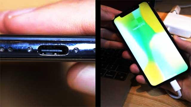أول هاتف iPhone في العالم مزود بمنفذ USB-C