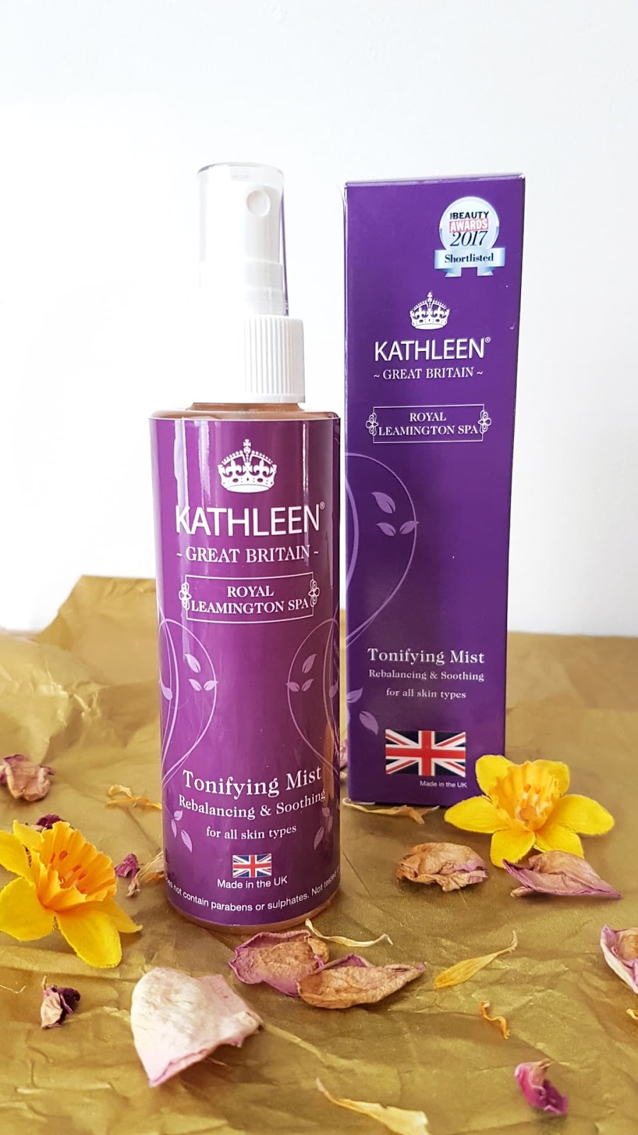 Kathleen Natural Skincare Review - Tonifying Mist