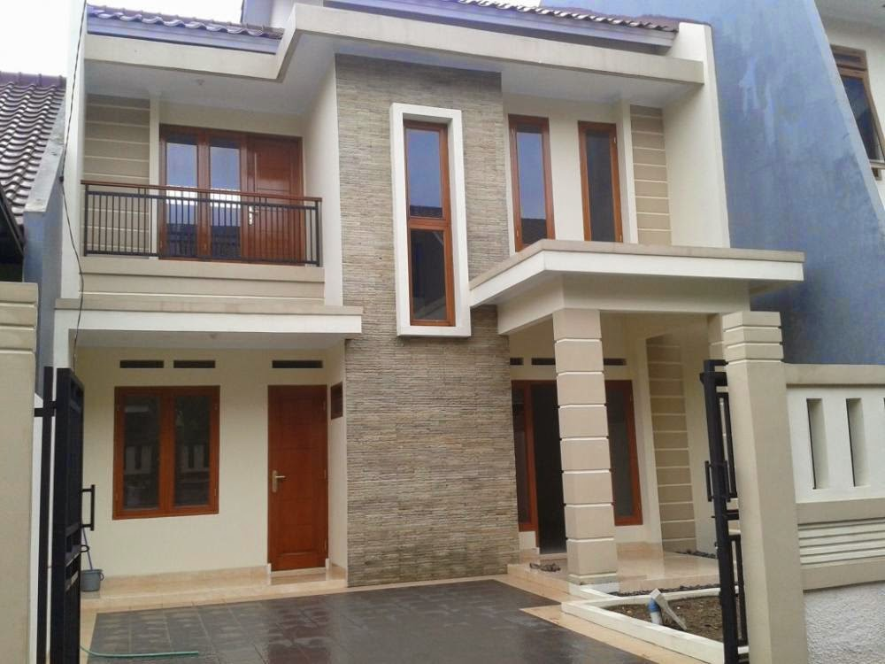 Gambar Desain Rumah Terbaru  1 Lantai Contoh O