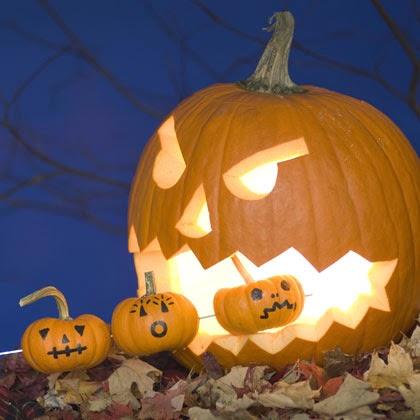 Mean Pac Man Halloween Pumpkin