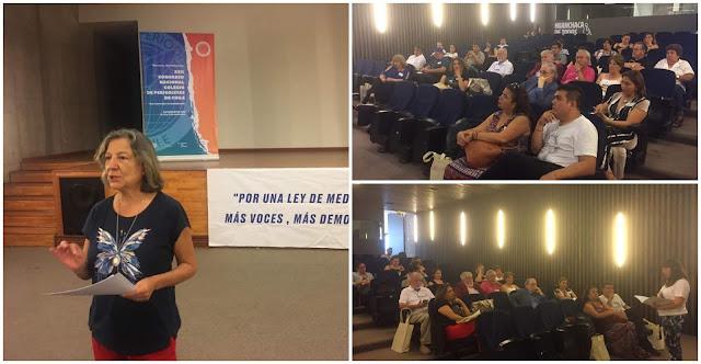 Sesión plenaria inicia trabajos en XVII Congreso Nacional  del Colegio de Periodistas