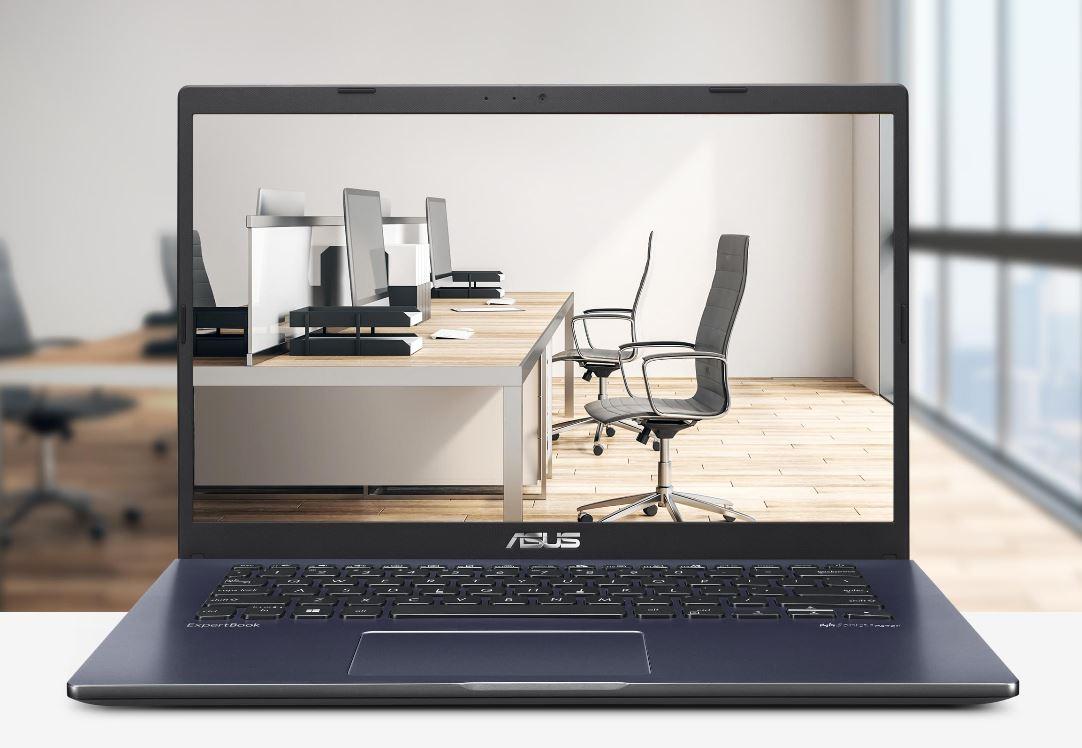 Asus ExpertBook P1410CJA BV341T, Laptop Bisnis Murah Bertenaga Intel Core i3-1005G1