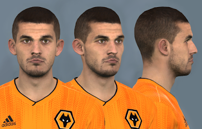 PES 2017 Faces Conor Coady by Dewatupai