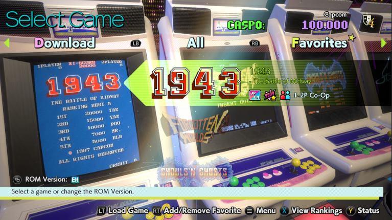 Descargar Capcom Arcade Stadium PC Full Español