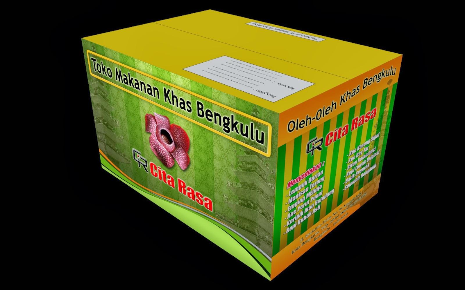 Percetakan Murah Bengkulu: Design Sample Packaging