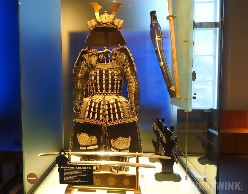 Museum Volkenkunde Leiden Japan and Korea samurai costume