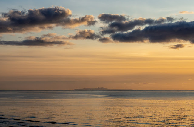 Photo of the Isle of Man from Maryport