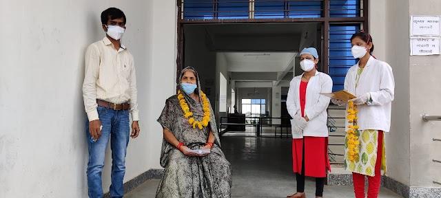 मई के सोलहवें दिन 104 मरीजों की पाजेटिव रिपोर्ट.. बटियागढ़ में 65 वर्षीय महिला ने जीती कोरोना से जंग.. फतेहपुर में आयुष विभाग द्वारा पुलिस एवं पत्रकारों को त्रिकटु चूर्ण के पैकेट वितरित किए..12 वीं के विद्यार्थियों को घर पर ही मार्गदर्शन दे रहे जिले के 48 विषय विशेषज्ञ..
