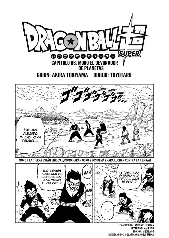 Dragon Ball Super Manga 66 Español