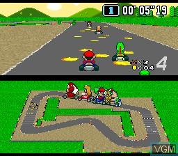 Jogue rom Super Mario Kart com emulador online