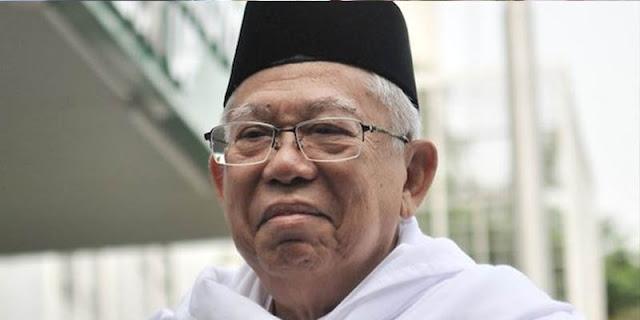 Peran Maruf Amin Di Pemerintahan Minim, Sinyal Indonesia Tidak Butuh Posisi Wapres