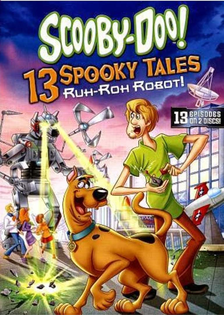 Scooby-Doo! 13 Spooky Tales Ruh-Roh Robot! [2013] [DVD9] [NTSC] [Latino] [2 DISC]