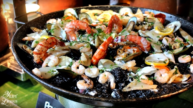 Paella Brunch Buffet at Spectrum Fairmont Hotel Makati Manila PH