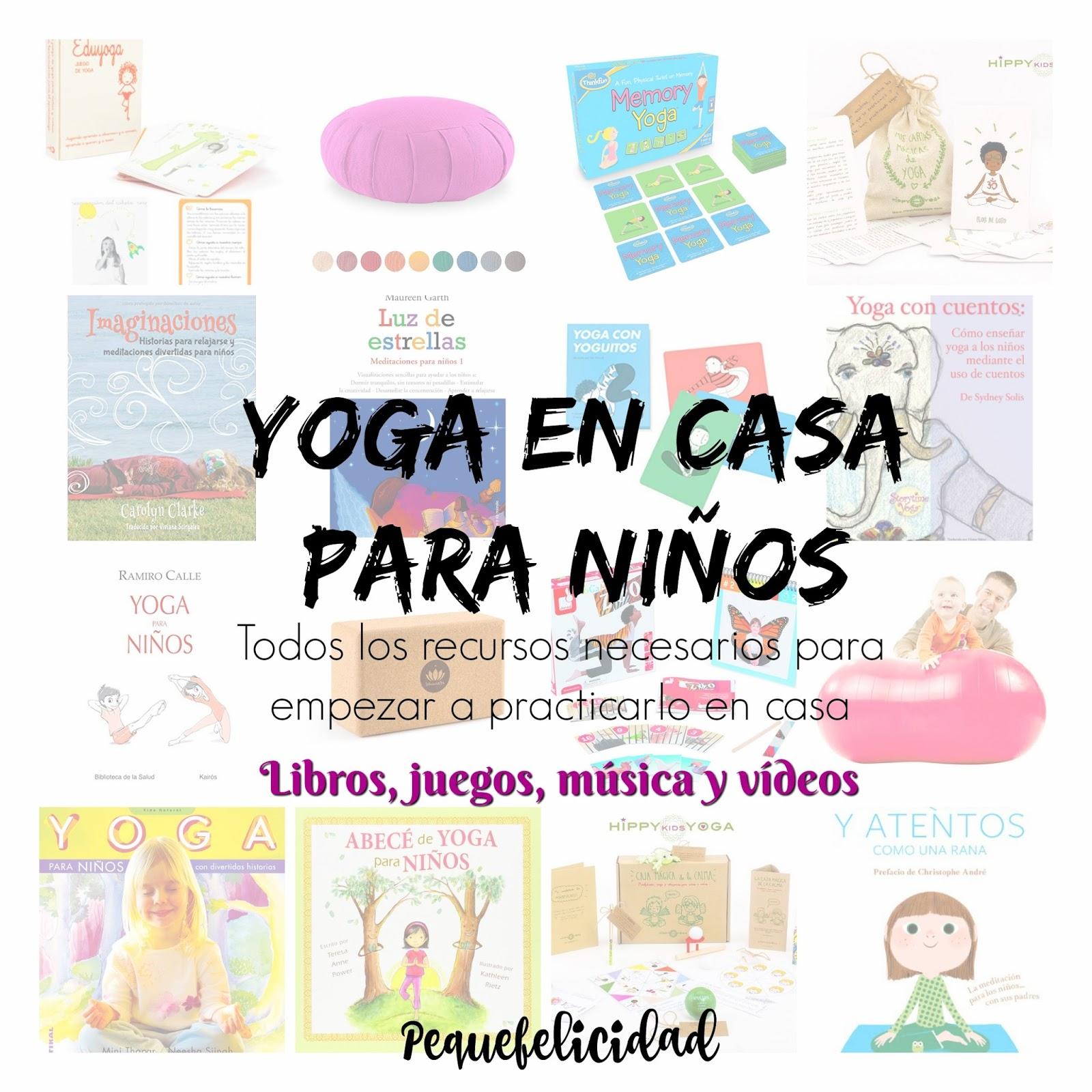 hoy vamos a ver algunos recursos prcticos para iniciarte en el yoga con nios en casa quiero mostrarte diferentes para empezar a practicar
