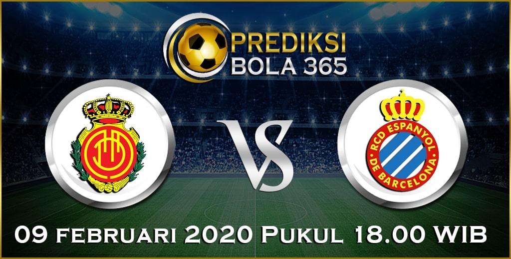 Prediksi Skor Bola Espanyol vs Mallorca 09 February 2020