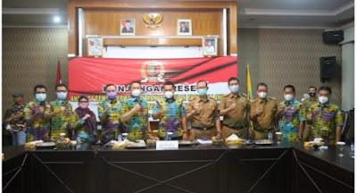 Plh. Bupati Lamtim Sambut Kunjungan Reses Anggota DPRD Lampung